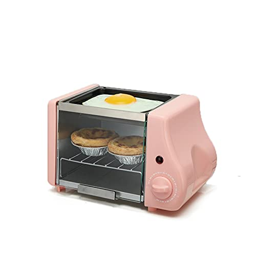 tostadora MINI MINI MINI PANTENERA ELECTRICA PANTALLA DE PANTENERA Asada Asada Huevos fritos Huevos de tortilla Freír la máquina de desayuno Fabricante de pan Tostador