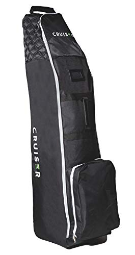 CRUISER GOLF Deluxe Padded Wheeled Travel Cover Bag Lightweight Flight Case with Wheels