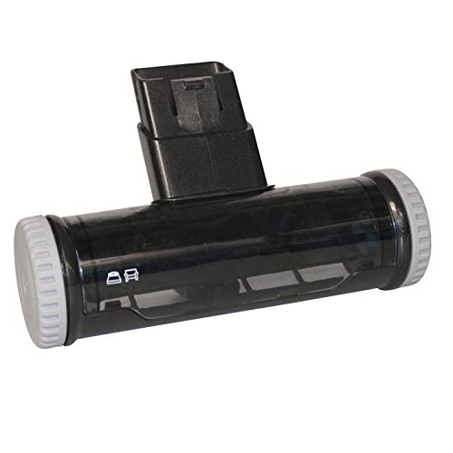 AEG 900 923 047 AZE 125 Cepillo BedPro Mini para la Limpieza de colchones, Negro