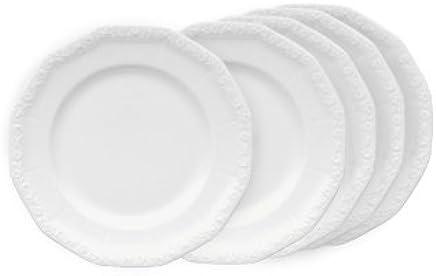 Preisvergleich für Rosenthal Maria Weiss Frühstücksteller-Set 6tlg.