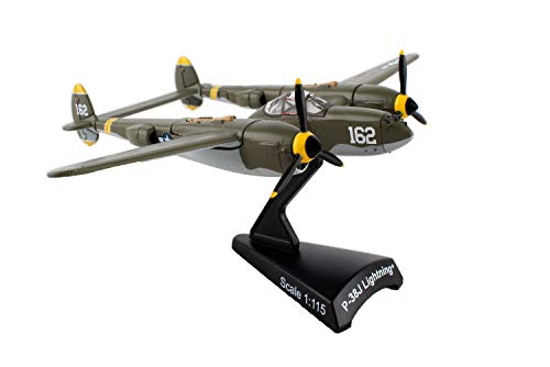 PS5362-4 Postage Stamp Lockheed P-38 Lightning 23 Skidoo Scale 1/115