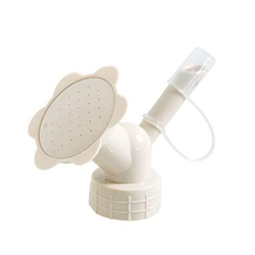 smallJUN désherbant Roundup,Protable Arroseur en Plastique Pot Long Buse pour Arroseurs De Fleurs Bouteille Arrosage Abricot 10X5Cm / 7.48X3.94In