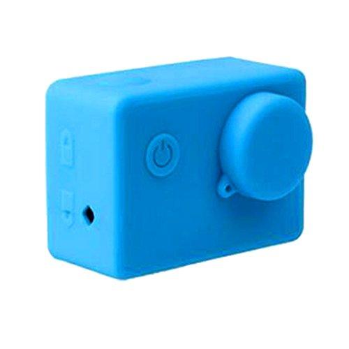 TISHITA #N/A De Silicona Suave A Prueba De Polvo De Protección De La Piel De La Caja para - Azul