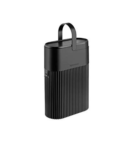Nespresso Kapsel Recyclingbehälter schwarz - Behälter für gebrauchte Kapseln