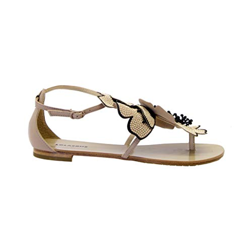 Luxury Fashion | Lola Cruz Dames 034Z29BKV20TAUPE Beige Leer Sandalen | Lente-zomer 20