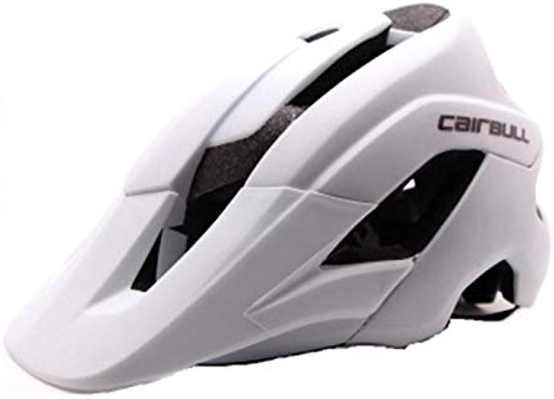CAIRBULL Ultralight Cycling Sport Helmet Bicycle Helmet Tntegrally Cast Bike Helmet 5462 cm Helmet  White