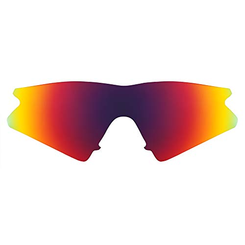 Revant Lentes de Repuesto Compatibles con Gafas de Sol Oakley M Frame Sweep, Polarizados, Sol de Medianoche MirrorShield