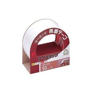 (業務用10セット) ニチバン 両面テープ ナイスタック 【屋外掲示用/幅50mm×長さ5m】 不織布 NW-N50 〈簡易梱包