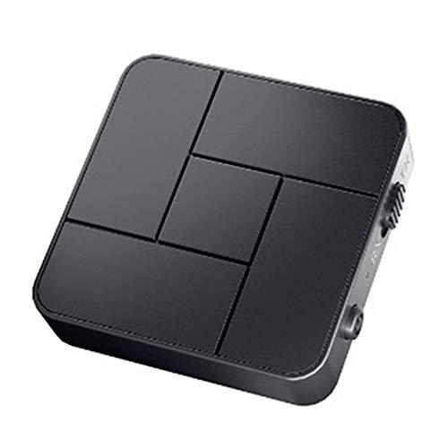 TENGXI Receptor Bluetooth 5.0 Transmisor Bluetooth 2 en 1 Adaptador Audio Bluetooth, Portátil Audio HD Baja Latencia Audio Estéreo para PC, TV, Cascos, Smartphone