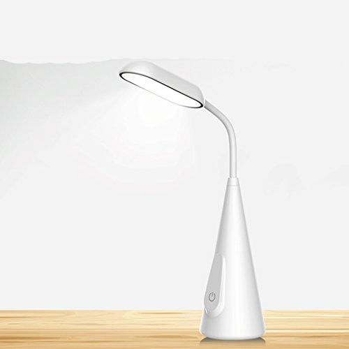 Lampe de table F Lampe de bureau LED Lampe LG perle `5W chambre lampe de chevet Lampe de bureau tactile col de cygne