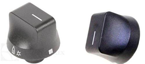 1mando regulador negro para placa de cocina Rex Electrolux Zoppas, M 4460