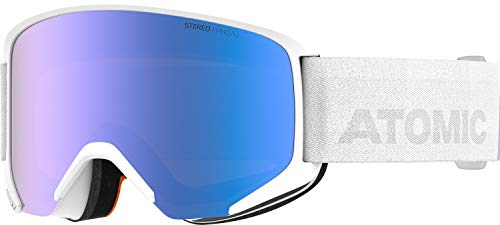 Atomic, All Mountain-Skibrille, Unisex, Medium Fit, Photochrome Scheibe, Savor Photo, Weiß/Blau Photochromic, AN5105996