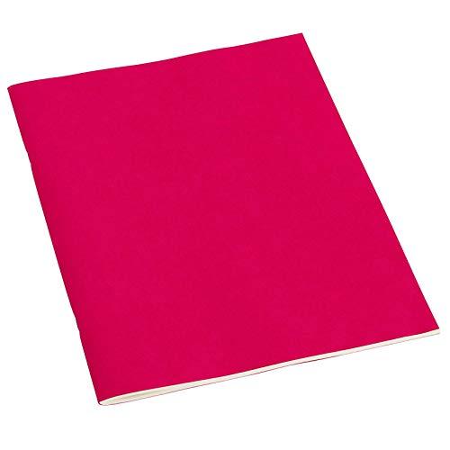 Semikolon (351840) Filigrane Heft liniert A4 pink (rosa) - Schulheft mit 32 Blättern - 64 Seiten aus cremefarbenem 100 g/m2-Papier