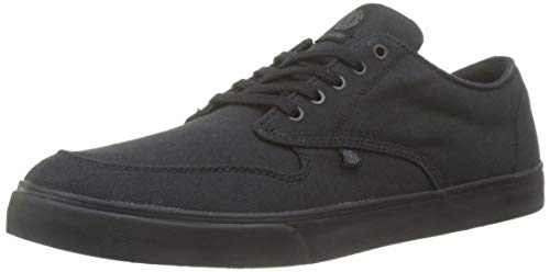 Element Men's Skateboarding Shoes, Black Blackout 3355, 6.5-7
