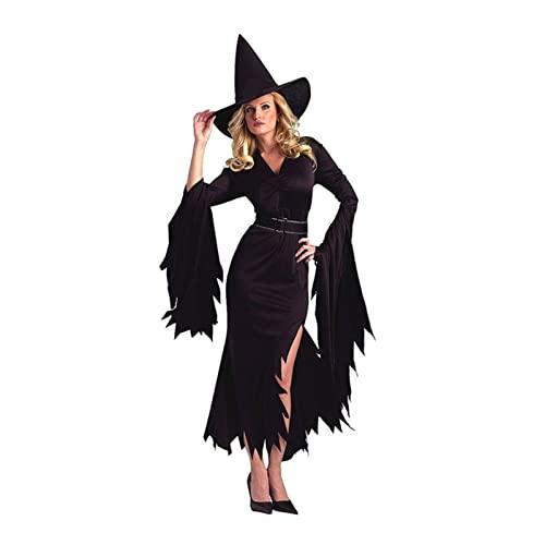 NC Halloween Cosplay bruja falda club nocturno fiesta de disfraces adulto rol juego de dibujos animados mueca traje mujeres vestir accesorios