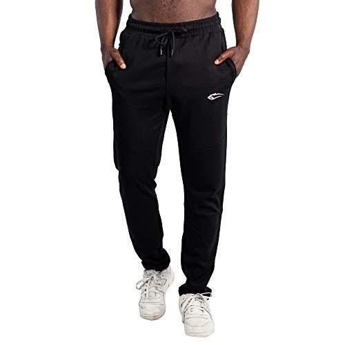 SMILODOX Herren Jogginghose Relaxed, Größe:L, Farbe:Schwarz