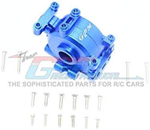 marcas de moda Losi Losi Losi 1 10 Baja Rey   Rock Rey Upgrade Parts Aluminium Front Gear Box - 1 Set azul  80% de descuento