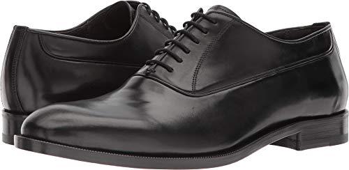 Canali Men's Plain Toe Oxford Black 45 M EU M