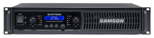 Samson SXD7000 Power Amplifier with DSP