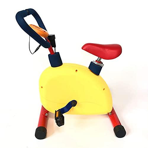 Bicicleta fitness para niños- equipo bicicleta ejercicio niños, divertido y fitness, mini bicicleta estática niños, equipo de gimnasia para el hogar, bicicletas estáticas para niños de 3 a 8 años
