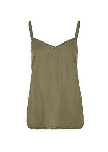 s.Oliver RED Label Damen Bluse ärmellos Olive 46