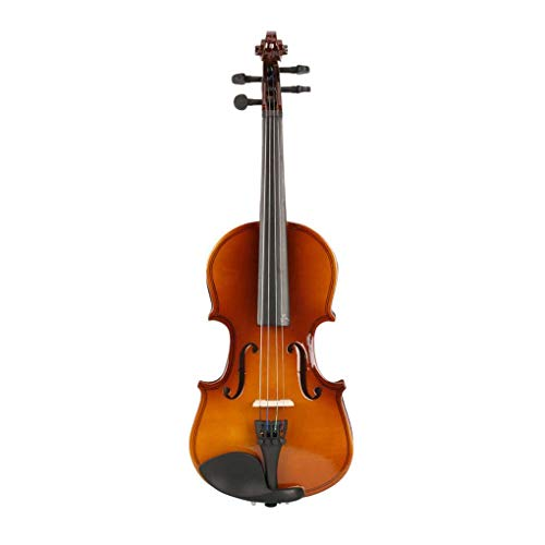 irene inevent New 1/8 Acoustic Violin-Acoustic Violin Set,Upgrad Version Violin Starter Kit with Case,Bow,Rosin,Gift for Beginners and Kids,Natural Color