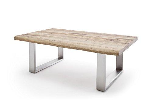 Robas Lund, Couchtisch, Wohnzimmertisch, Sagano,Zerreiche/Massivholz, 75 x 120 x 43 cm, 58854EIZ