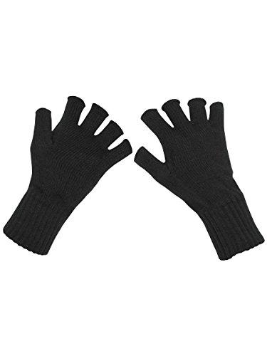 Mitaines noir - Noir - X-Large