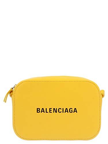 Luxe Mode   Balenciaga Womens 552372DLQ4N7170 Geel Schoudertas  