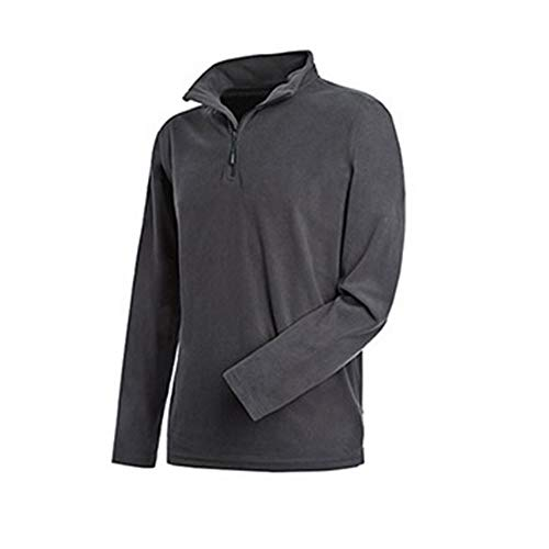 Stedman - Polaire Zip mi-Long Active - Homme (M) (Gris)