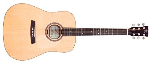 Kremona M10E Serie Stahl Saite Elektroakustische Gitarre. Fichte massiv, Mahagoni Laminat