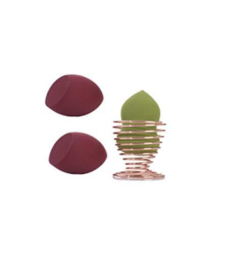 Ztfyxywan Multifunctional Makeup Sponge Set Creative Wet and Dry Beauty Egg with Bracket Makeup Sponge Beauty Tool
