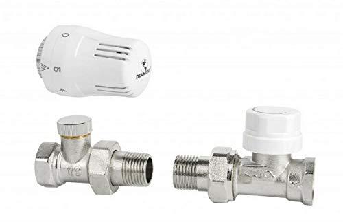 Heizkörper Ventil   Thermostatsatz Durchgang
