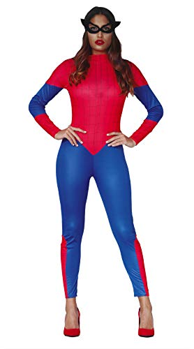 FIESTAS GUIRCA Disfraz Mujer superheroína Talla m