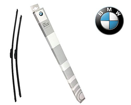 Original BMW evo Flachblatt Wischerblätter Scheibenwischer für BMW 3er Reihe E92 Coupe E93 Cabrio - bis Bj. 09/09