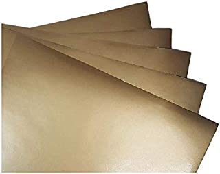 Gold Metallic (glossy) 5-pack of adhesive vinyl sheets - 12