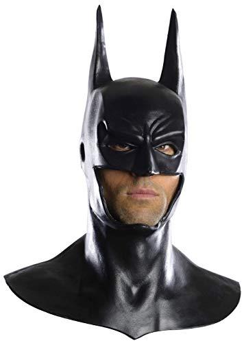 Rubie's Men's Arkham City Deluxe Batman Cowl Mask, Black, One Size