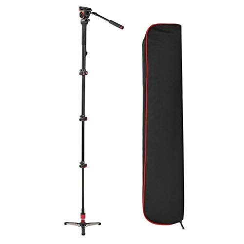 DAUERHAFT Cámara DSLR con inclinación de Alto ángulo Monopie Monopie, para cámara sin Espejo/DSLR/videocámara/estabilizador
