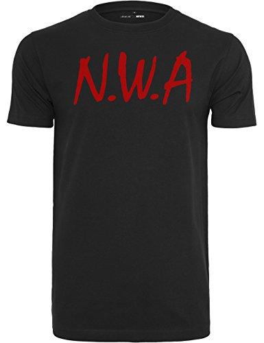 Mister Tee Herren T Shirt Kurzarm N.W.A, Black, L, MT270-00007-0042