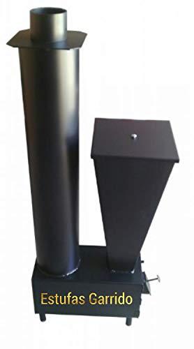 5. Estufa de cascara de almendra estufas Garrido