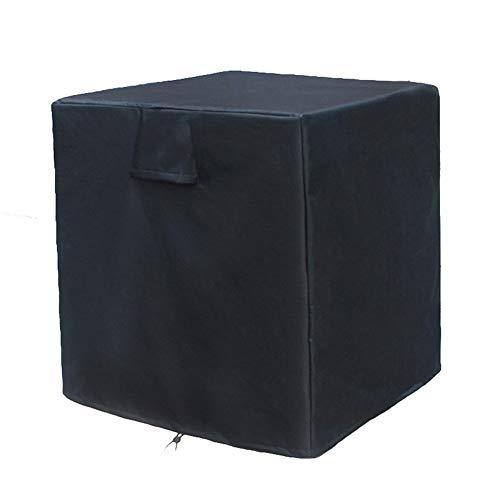 AQzxdc Cubiertas centrales de Aire Acondicionado para Unidades Exteriores, Cubierta de protección de CA Impermeable Resistente al Polvo Universal para Exteriores de Servicio Pesado,30 * 30 * 32in