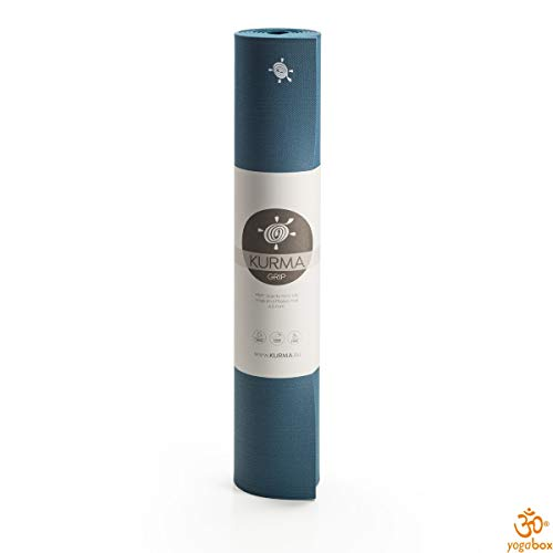 Yogamatte KURMA Color Grip, Twilight, L: 185 cm/B: 66 cm/H: 0.65 cm