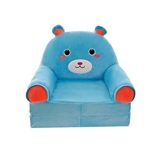 GZQDX Sofá Plegable de Animales para niños, sofá Tatami para bebé, sofá de Peluche para niños, Juguete de Dibujos Animados, Asiento, Regalos para niñas, Regalo de cumpleaños, Tumbona, sofá Cama