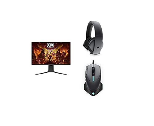 Alienware AW2720HFA - Monitor + Gaming Headset + Wired Gaming Mouse