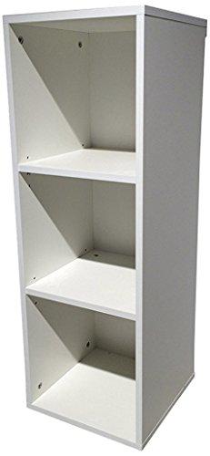trendteam Babyzimmer Regal Unterstellregal für Wickelkommode Ronja, 36 x 91 x 38 cm in Weiß mit viel Stauraum