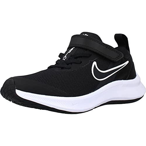 Nike Star Runner 3, Scarpe da Tennis, Black/Dk Smoke Grey-Dk Smoke Grey, 35 EU
