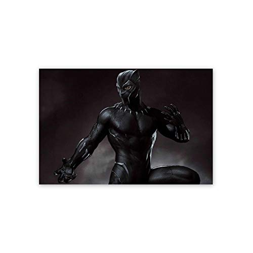 Ionia Anime Poster,Black Panther Wakanda Forever Chadwick Boseman(19),3D Print Wall Art for Living Room,Bedroom,College Dorm Home Decorations Giclee Oil Paintings,16x24 inch Self-Adhesive