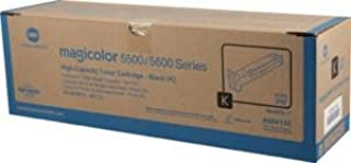 Konica Minolta magicolor 5670 Black High Capacity Toner (12000 Yield) - Genuine OEM toner