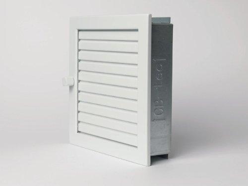 CB Warmluftgitter 45x23, weiß, Standard