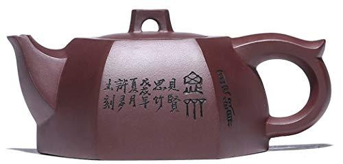Alle handgemaakte Yixing theepotten erts aubergine paars klei theepot huishoudelijke producten/zoals afgebeeld / 260Ml